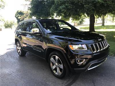 2015 Jeep Grand Cherokee Limited 15 Jeep Grand Cherokee Limited 4x4 Off Lease Clean Title Looks & Drives Perfect!