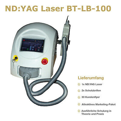 Nd Yag Laser, Laser Removel Gerät, Q Switch Laser, Gerät, Tattooentfernung