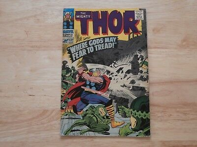*AR* Marvel Comic Thor #132 Sept 1966 First Appearance Ego the Living Planet!