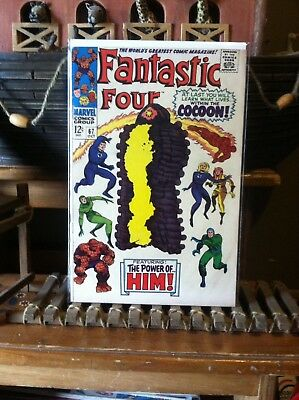 Fantastic Four #67 First appearance of Warlock / HIM 6.5FN+ Marvel 1967 NICE!