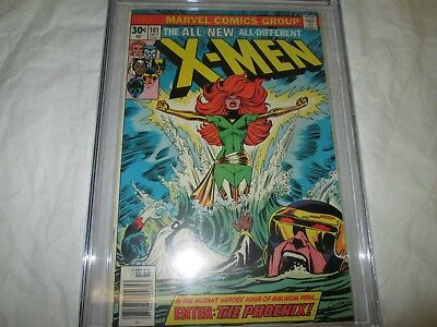 xmen 101 cgc 6.0 1st Phoenix key issue