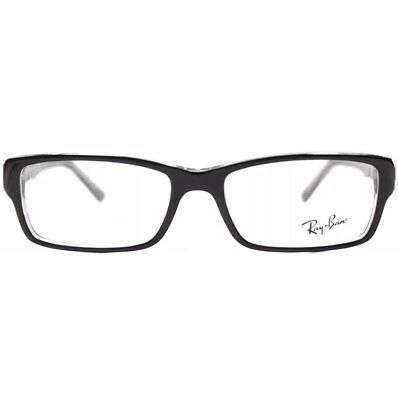Auth new +1.50 reading glasses Ray Ban RX5169 2034 Black Transparent  54mm