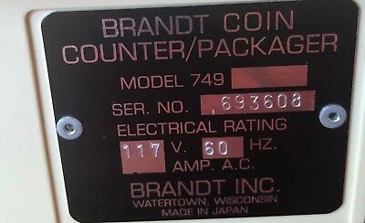 brandt coin counter