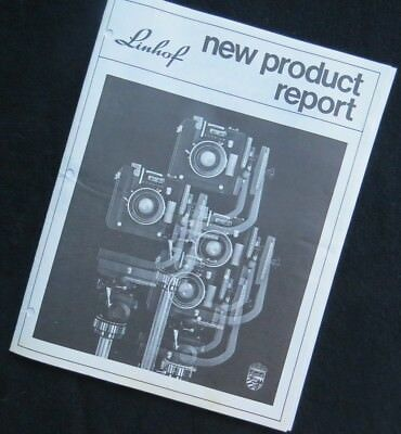 Vintage Linhof New Product Report & price sheets - 1976