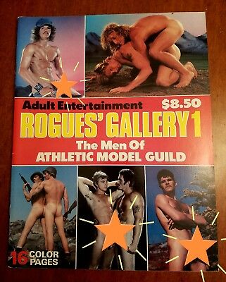 AMG ROGUE'S GALLERY 1 MAGAZINE Ca. 1982 Athletic Modeling Guild