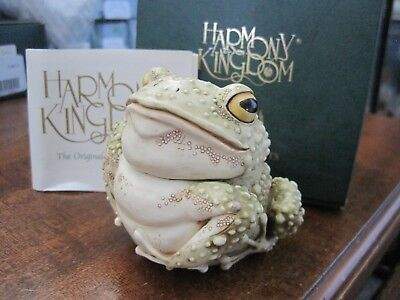 Harmony Kingdom Lord Foxglove Toad Frog Pond Party Excl UK Made Box Figurine SGN