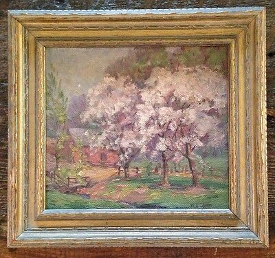 Original Signed W.H. Eppens Painting Chicago Illinois Artist