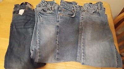 4pc boys jean lot  Size 11-12