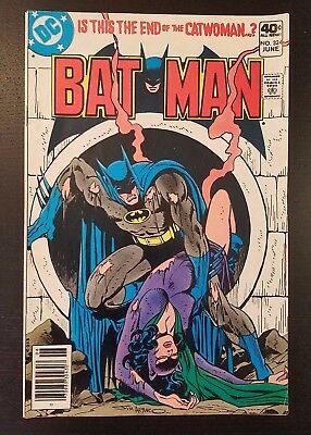 Batman #324 (DC, 1980)  First Full Appearance of Cat-Man, Catwoman Appearance