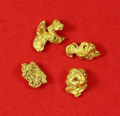 0.89 gms Victorian 4 Gold Nuggets