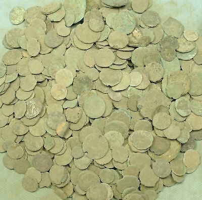 Lot Of 500+ Roman Bronze Coins (2.5 Lb)