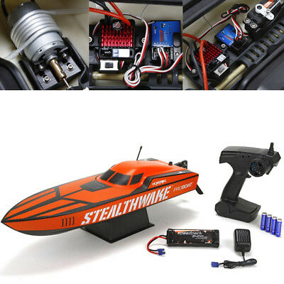 Pro Boat Stealthwake 23-inch Deep-V Boat Brushed RTR w/Radio / Battery / Charger