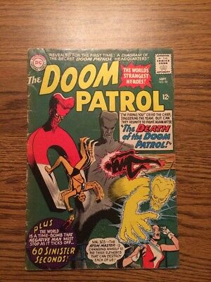 The Doom Patrol 98 VG 1965 DC Complete