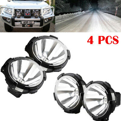 4x Spot Beam HID Xenon Driving Light  Working Lamp Turck 7Inch 100W Off-Road 12V