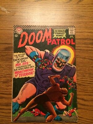 The Doom Patrol 105 VG 1966 DC Complete
