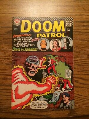 The Doom Patrol 110 VG+ 1967 DC Complete