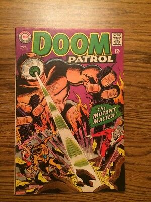 The Doom Patrol 115 Fine- 1967 DC Complete