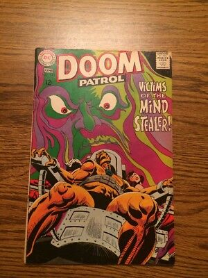 The Doom Patrol 119 VG 1968 DC Complete