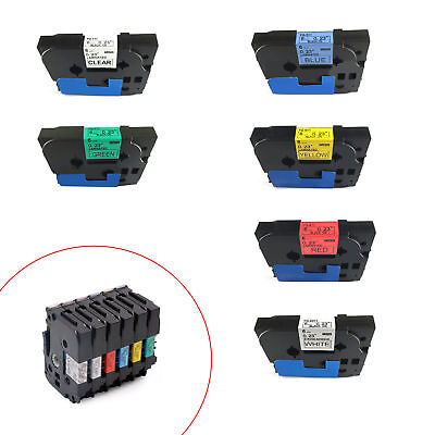 1pcs Tze-FX111 FX611 P-touch Label Tape Cartridge Compatible for Brother 6mm