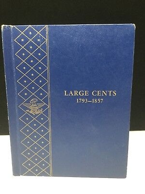Collection -US Large Cents 1793-1857 Draped Bust, Coronet/Classic Head & More!