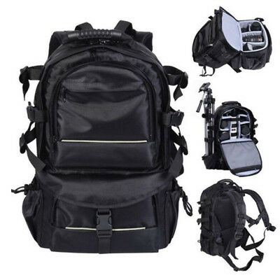 Waterproof Large Backpack Camera Shoulder Bag Case for DSLR Canon Nikon Sony