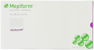 "Mepiform with Safetac Technology 4""x7"", 4 Count, Self Adherent Soft Silicone She"