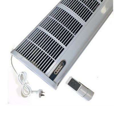 1200mm Air Curtain- Remote Control Commercial 3 Speeds Off White Light Warranty