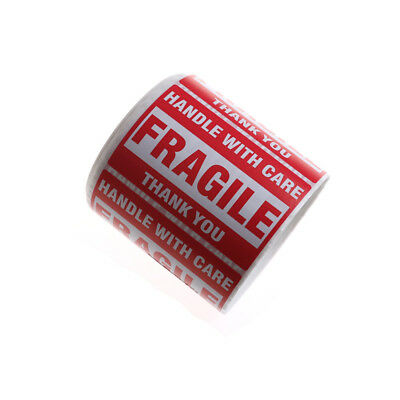 """500Pcs/Roll Fragile Shipping Mailing Handle with Care Stickers 2*3 """" 51 x 76mmST"""