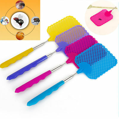 73cm Extendable Telescopic Mosquito Fly Swatter Plastic Prevent Catcher Bug Pest