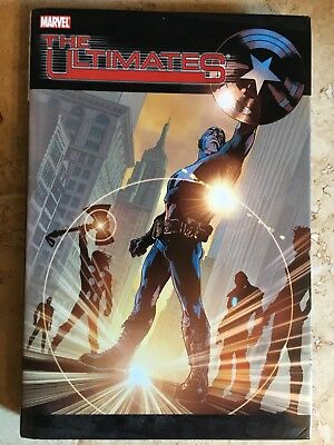 Ultimates Vol 1 Hardcover Signed By Mark Millar