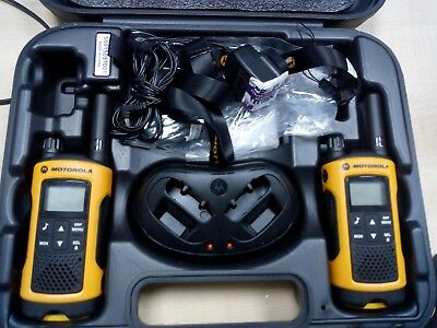 Motorola TLKR T80 Extreme IPX4 Rugged All Weather Two Way Radios Twin Pack