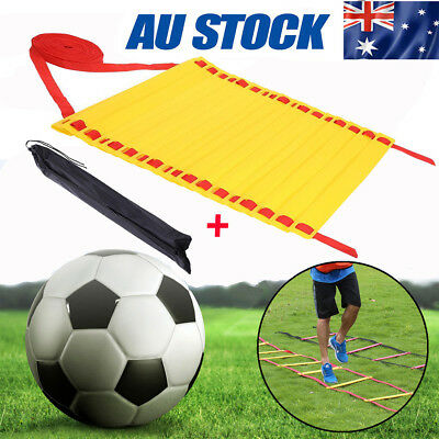 21 Rung Agility Ladder 8M Speed Training Equipment Soccer Football with Bag HY