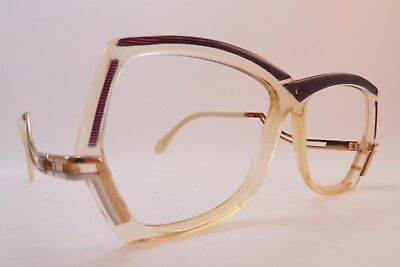 Vintage 80s Cazal eyeglasses frames Mod 178 layered acetate made in Germany