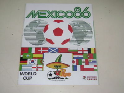 album Panini Coupe du Monde world cup  Mexique 86  réédition 100% complet Mexico