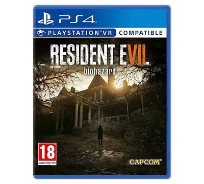 Resident Evil 7 Biohazard PS4 PSVR Game Plantation In Louisiana And Taking Place