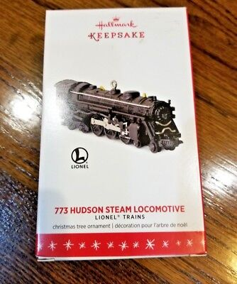 Hallmark Lionel 773 Hudson Steam Locomotive Ornament 2016 21st in Series New