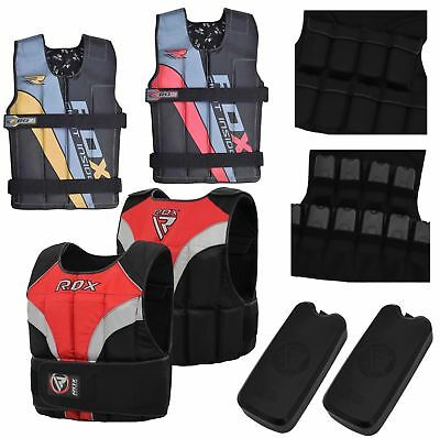 RDX Pro Weighted Vest 8-18 kg Gym Running Fitness Training Weight Loss Jacket