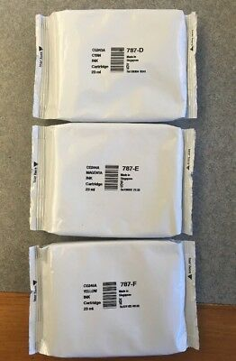 Pitney Bowes 787-D, 787-E, 787-F Ink Cartridges (BRAND NEW, GENUINE)