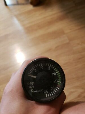 airplane gauge vintage rpm