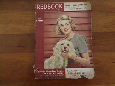 vintage Redbook magazine May 1940 as is great ads