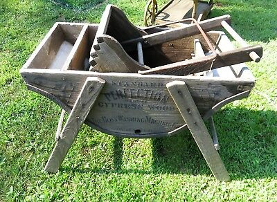 "Antique Perfection ""The Boss"" Washing Machine"