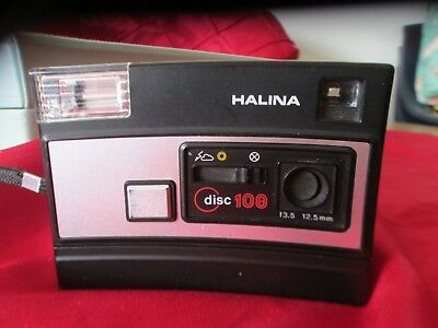 Retro Halina disc camera