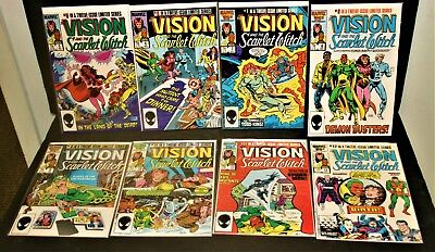 Marvel Comics The Vision and the Scarlet Witch # 5-6-7-8-9-10-11-12 VVF