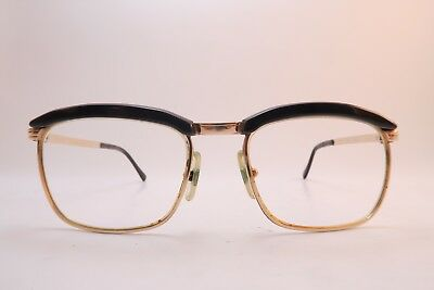 Vintage gold filled eyeglasses frames L'Amy Mod FRANCIS Size 52-20 France *****