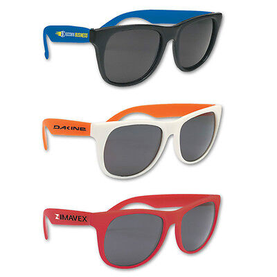 CLASSIC SUNGLASSES - 150 quantity - Custom Printed with Your Logo