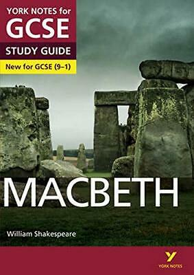 Macbeth: York Notes for GCSE (9-1) by James Sale New Paperback Book