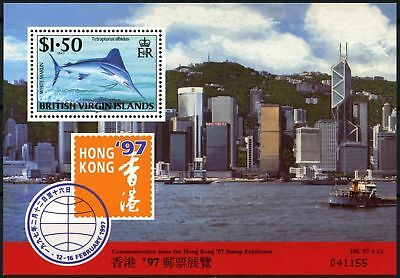 British Virgin Is. 1997 SG#MS958 Hong Kong Stamp Exhibition MNH M/S #D76422