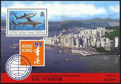 Brit. Indian Ocean Ter. 1997 SG#MS193 Hong Kong Stamp Exhibition MNH M/S #D76423