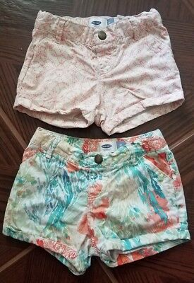Old Navy Girls Toddler Shorts Size 3T-lot Of 2