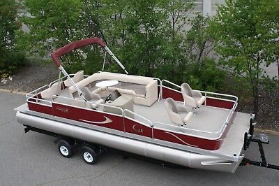 Factory direct pontoon boats-New 24 ft Grand Island Partyfish